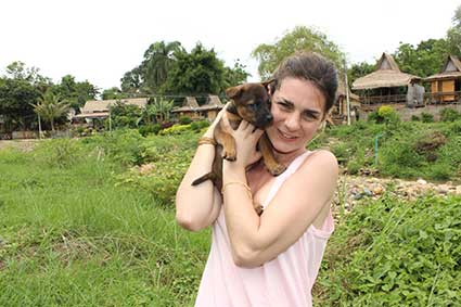 Desde el primer momento Pai se hizo un hueco en nuestro corazón, en Pai (Tailandia).