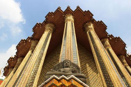 Imagen del complejo Wat Phra Kaew, Bangkok (Tailandia)