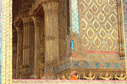 Imagen del Wat Phra Kaew, en Bangkok (Tailandia)
