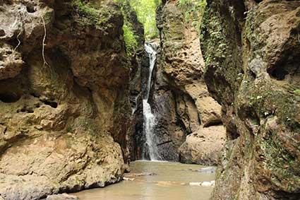Cascada de Mae Yen, en la provincia del Mae Hong Son, al Norte de Tailandia.