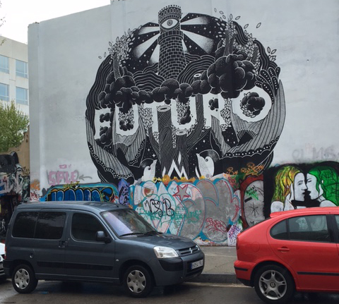 GRAFFITI FUTURO